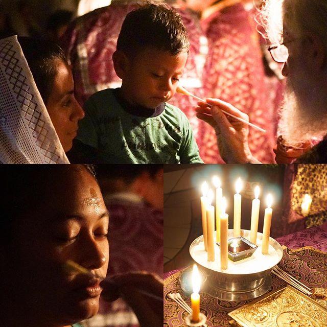 Unction – Holy Week in Guatemala #orthodoxchristian #orthopost #holyweek2019 #guatemala