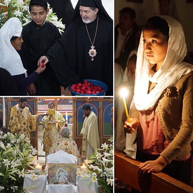 Pascha in Guatemala: ¡Cristo ha resucitado! ☦️🌸 #orthodoxchristian #orthodoxeaster #orthopost #eastereggs #pascha #greekorthodox #guatemala #christisrisen #comereceivethelight