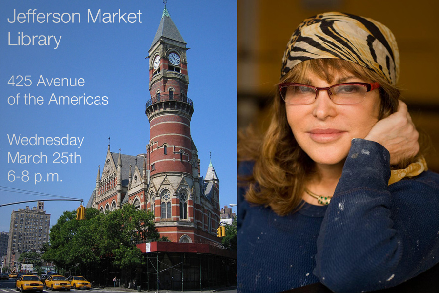 "ARTIST TALK: JEFFERSON MARKET LIBRARY   Join Feuerman as she takes part in a panel discussion titled ""Art Outside the White Box"" at Jefferson Market Library in New York City.  More details can be found HERE."