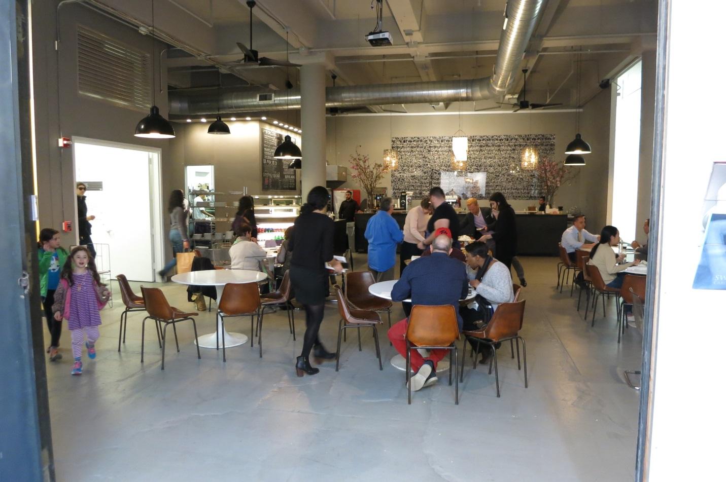 Mana Café   across from CF's studio.