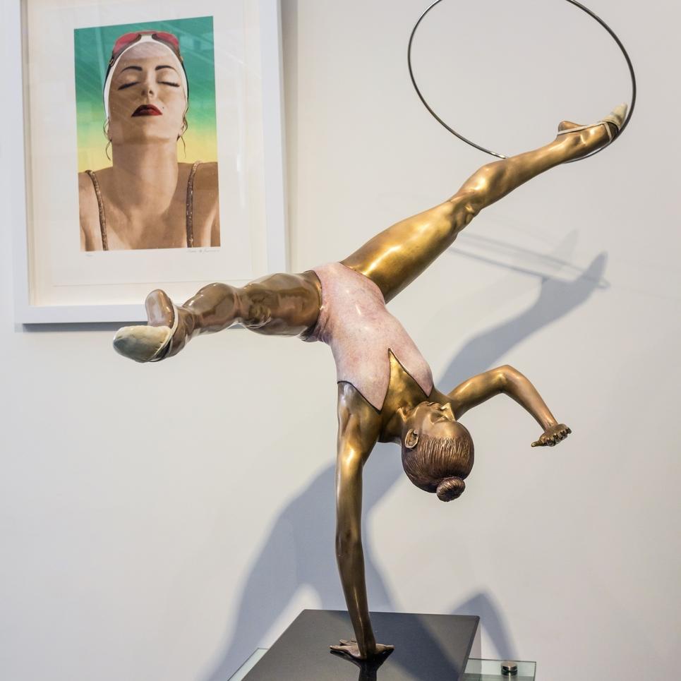 Dancing Hoop, 2016, 41 x 20 x 38.5 inches