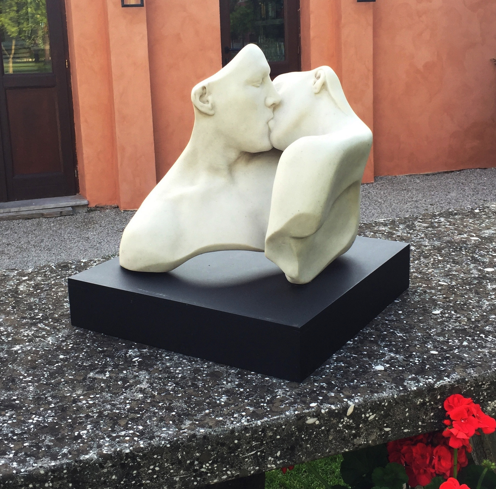 The Lovers, Marble, 17L x 16W x 15H (inches), Brano, Italy