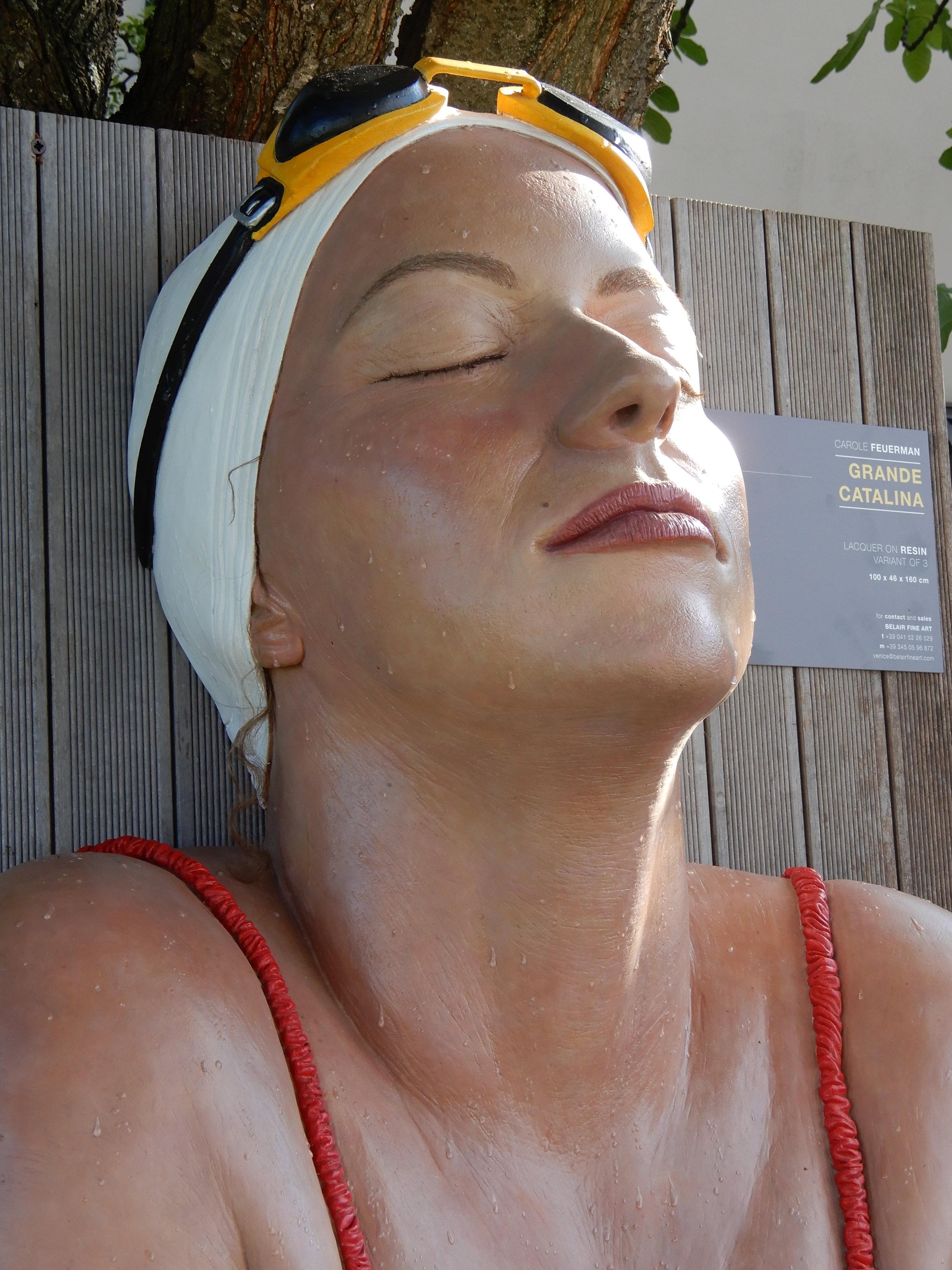 """Grande Catalina, 2005, Venissa Burano, Italy, Patinated Resin, 2005, 62"""" x 38"""" x 17"""""""