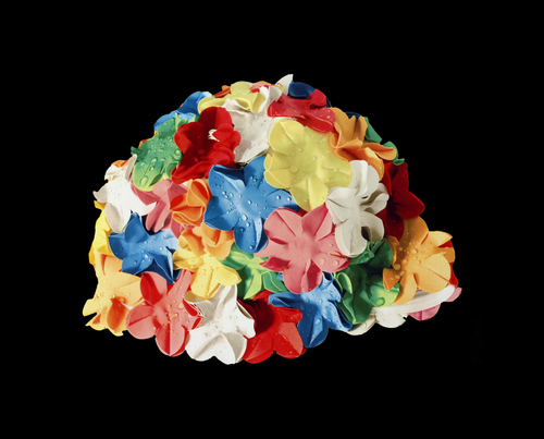 Multi-Colored Cap, Silkscreen, 2015