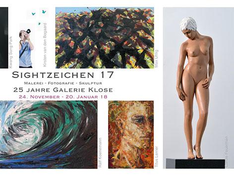 SIGHTZEICHEN 17 - Presented by Galerie Klose Rüttenscheider Str. 22,1D - 45131, Essen, GermanyNovember 24, 2017 - January 20, 2018