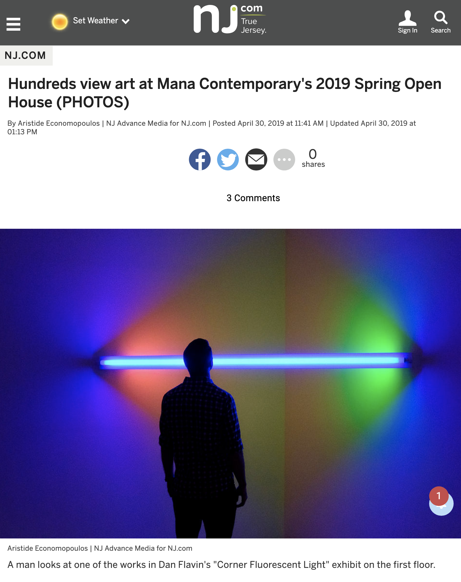 Hundreds view art at Mana Contemporary's 2019 Spring Open House (PHOTOS)