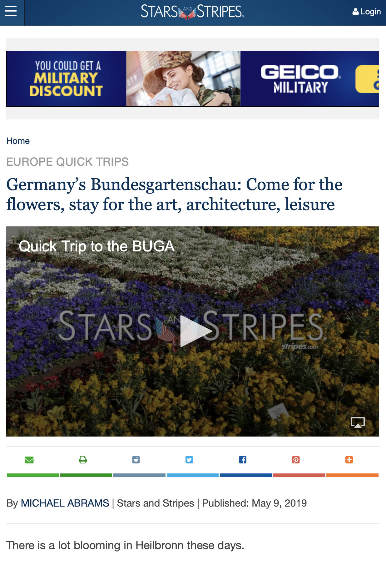 Germany's Bundesgartenschau: Come for the flowers, stay for the art, architecture, leisure