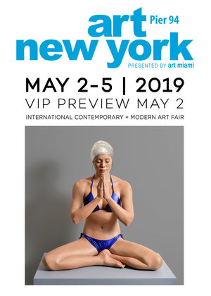 Art New York - Carol A. Feuerman will be having a group show with Markowicz Fine Art.Art New York - Booth ANY305Pier 9455th Street and West Side HighwayNew York, NYwww.artnyfair.comVIP Preview:Thursday, May 2, 2019, 2:00pm - 5:00pmGeneral AdmissionsThursday, May 2, 5:00pm - 8:00pmFriday, May 3, 12:00pm - 8:00pmSaturday, May 4, 12:00pm - 8:00pmSunday, May 5, 12:00pm - 6:00pm