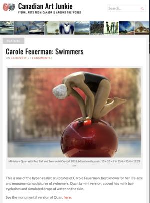 Carole Feuerman: Swimmers