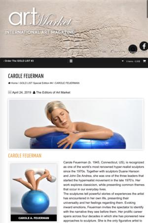 Carole Feuerman