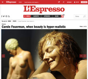 Carole Feuerman, When Beauty is Hyper-Realistic