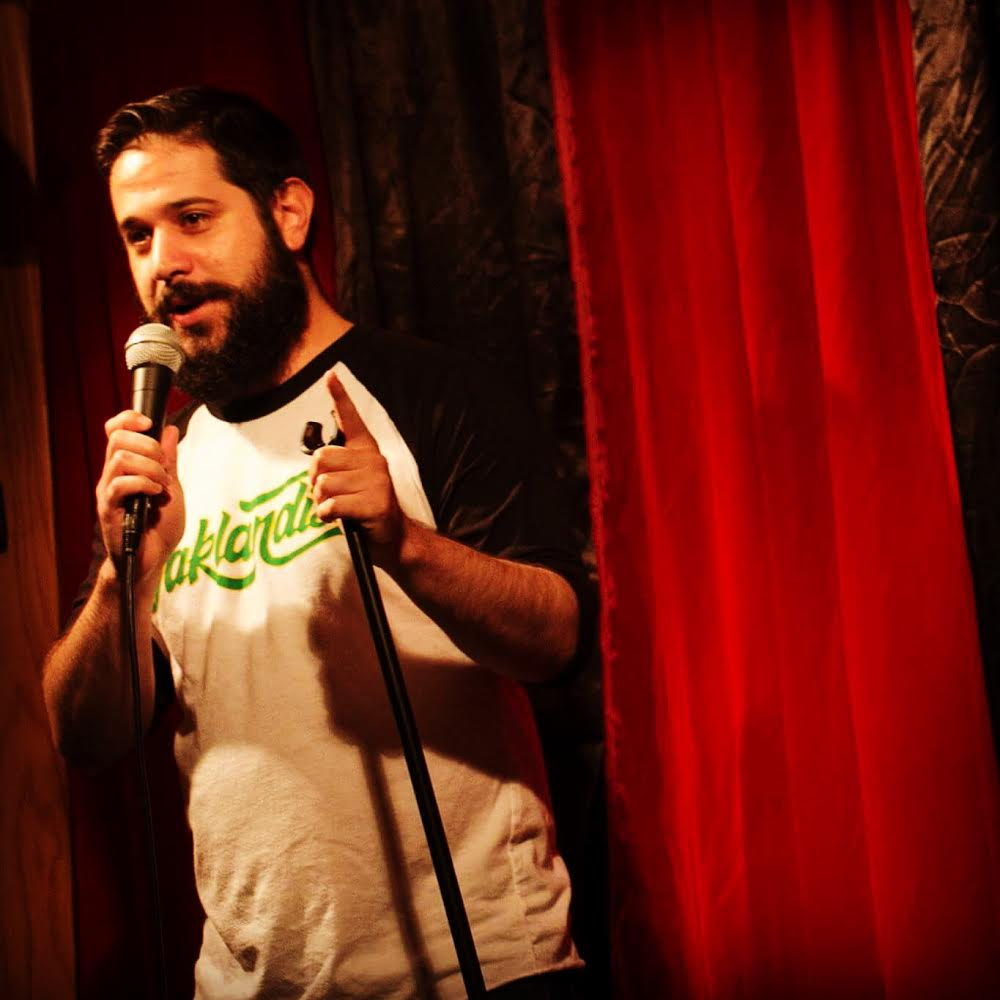 Vince D'Amico is an Oakland based comedian and high five enthusiast/beard connoisseur. People have been laughing at vince since he was a baby, and now you can too, at one of his many shows in the Bay Area.
