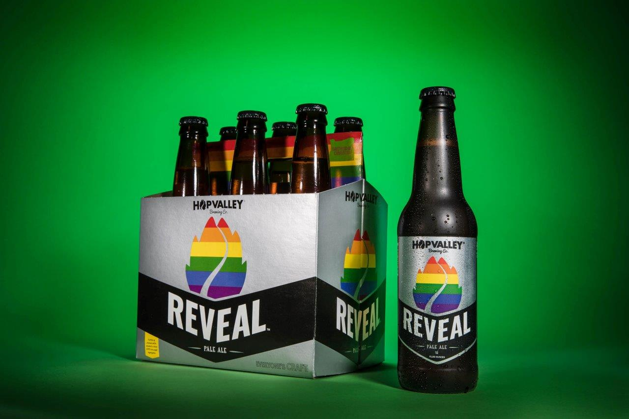 This contemporary Pale Ale will be slightly sweet with huge orange blossom like aromas and flavor. Brewed in the true spirit of collaboration to support the LGBTQ community across the West Coast!
