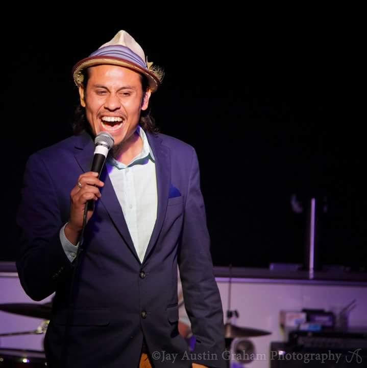 """Anthony Medina produces the shows at Brainwash Cafe. He is the founder of True Hustle Entertainment, a comedy collective producing over 300 shows a year. He's been doing comedy for 9 years & was recently named """"Comics to Watch"""" by SF Chronicle."""