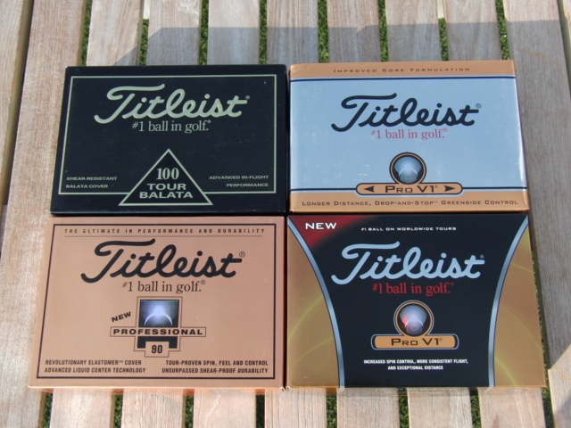 Four Generations of Titleist