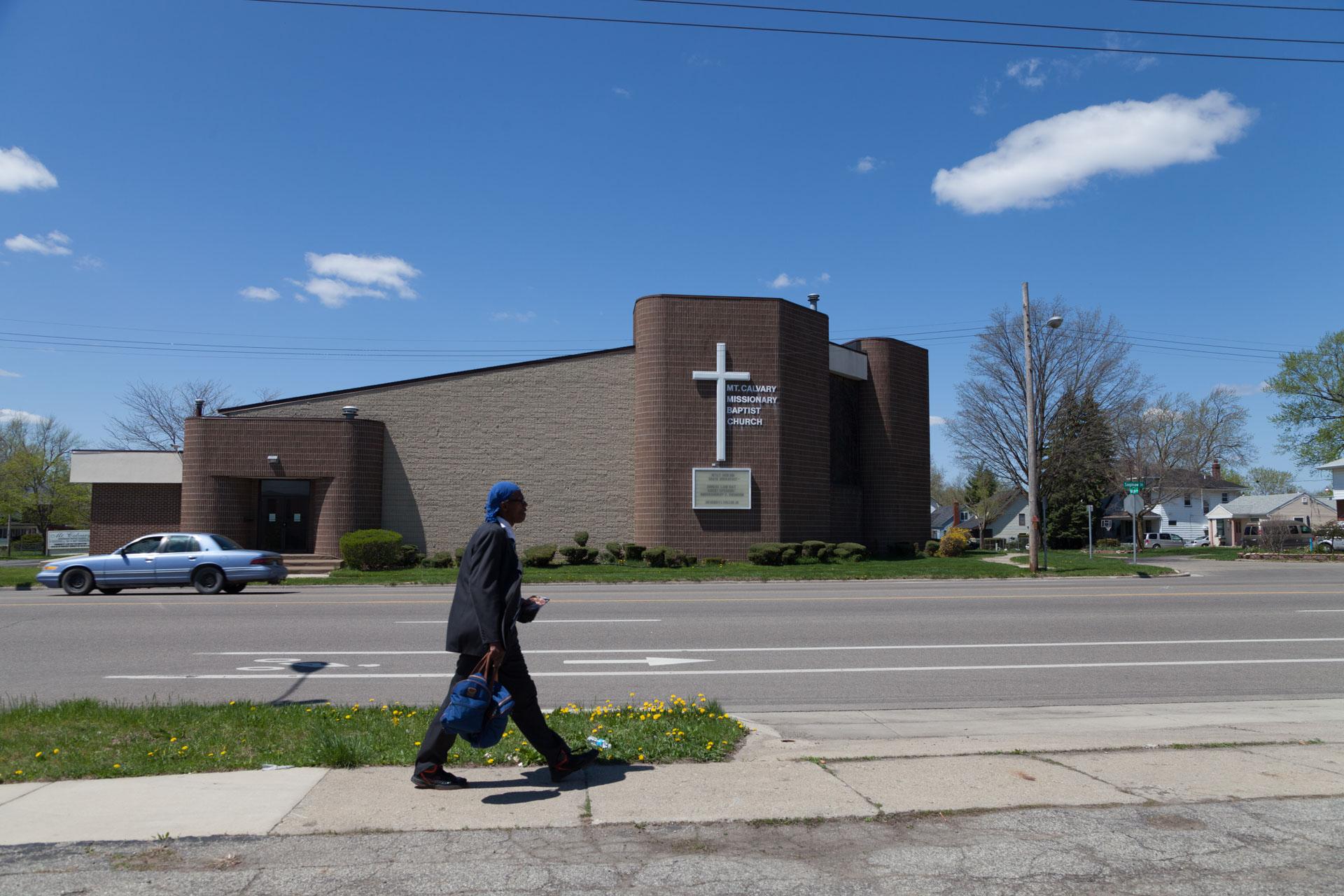 4805 N. Saginaw St., Mt. Calvary Missionary Baptist Church