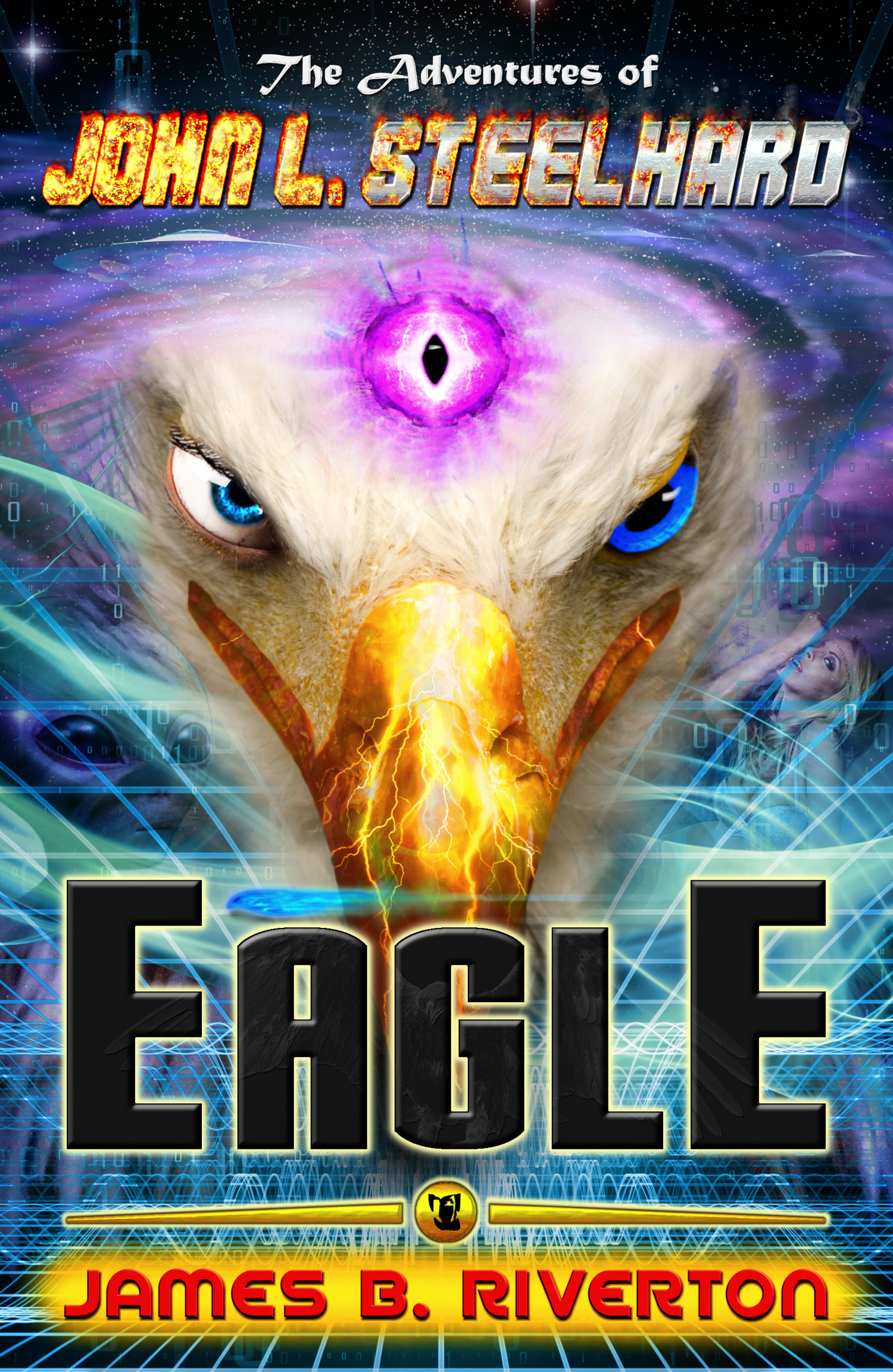 Official Book Cover for   The Adventures of John L. Steelhard:  EAGLE