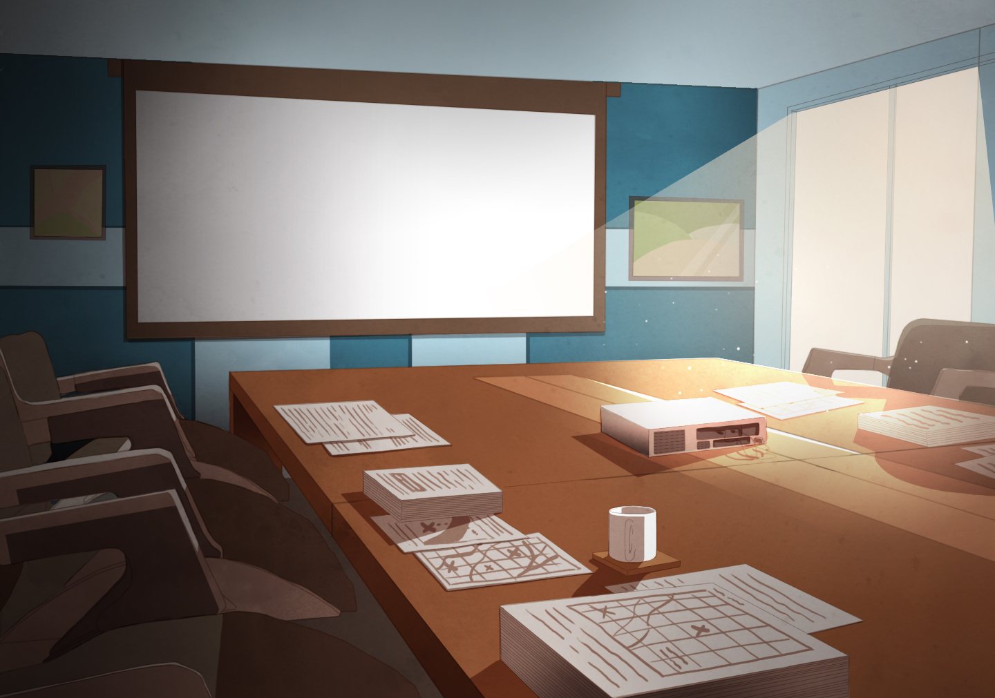 Background 1: Meeting Room