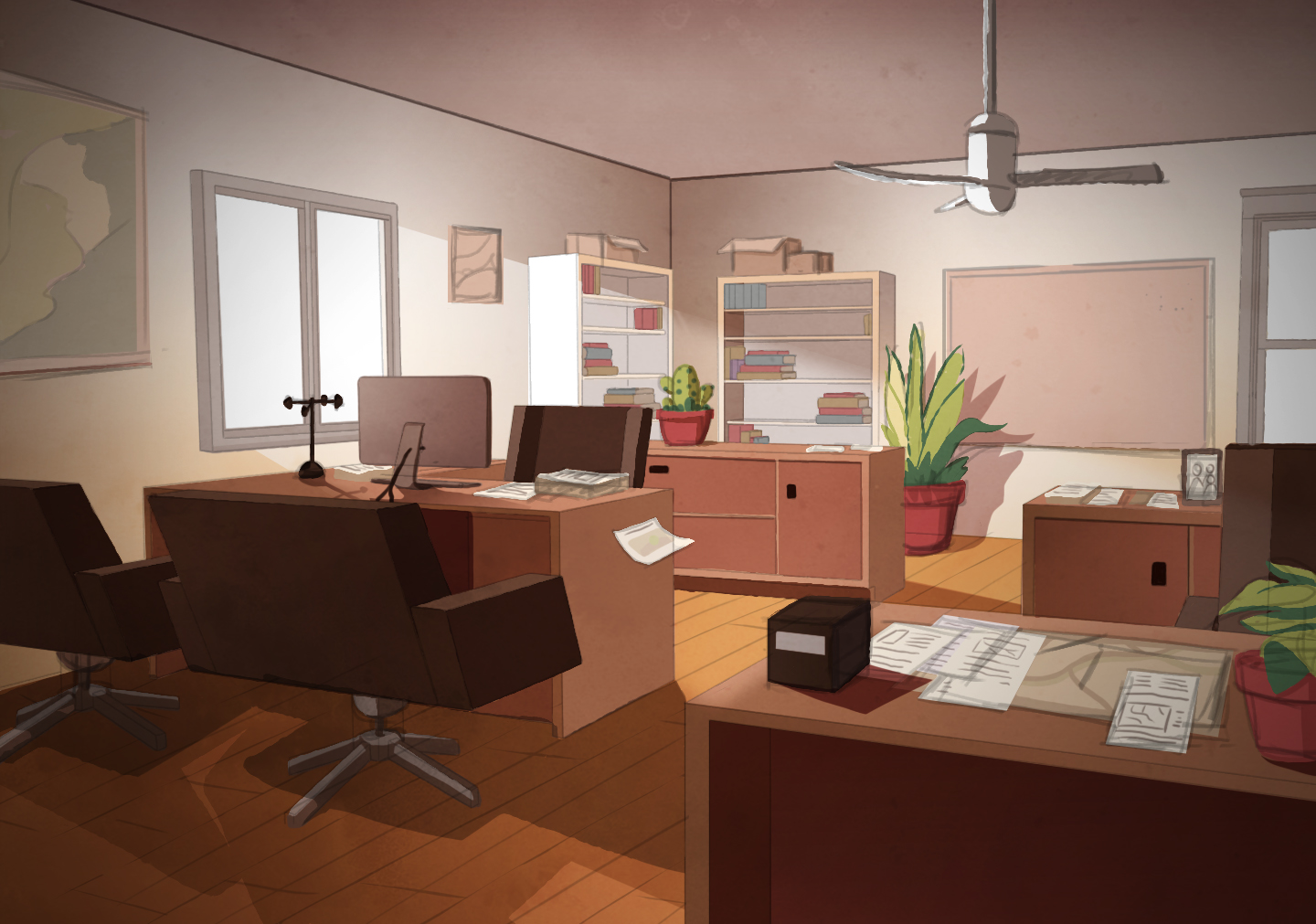 Background 3: Office 1