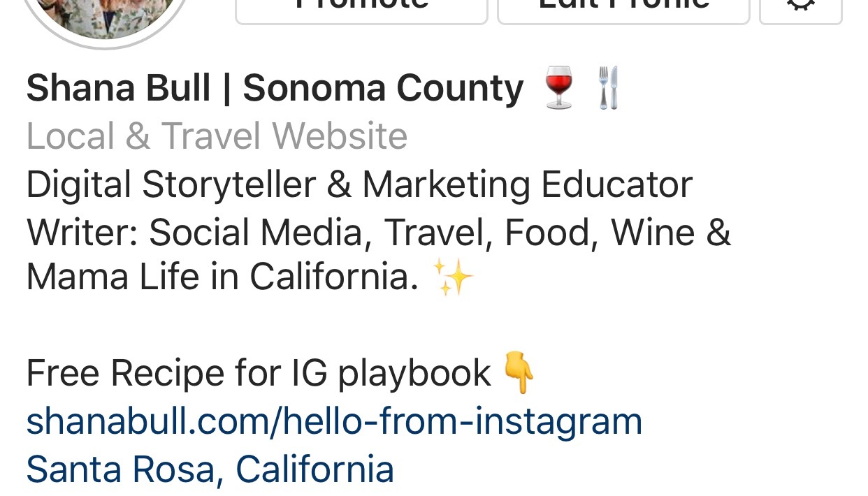 Instagram Bio Marketing