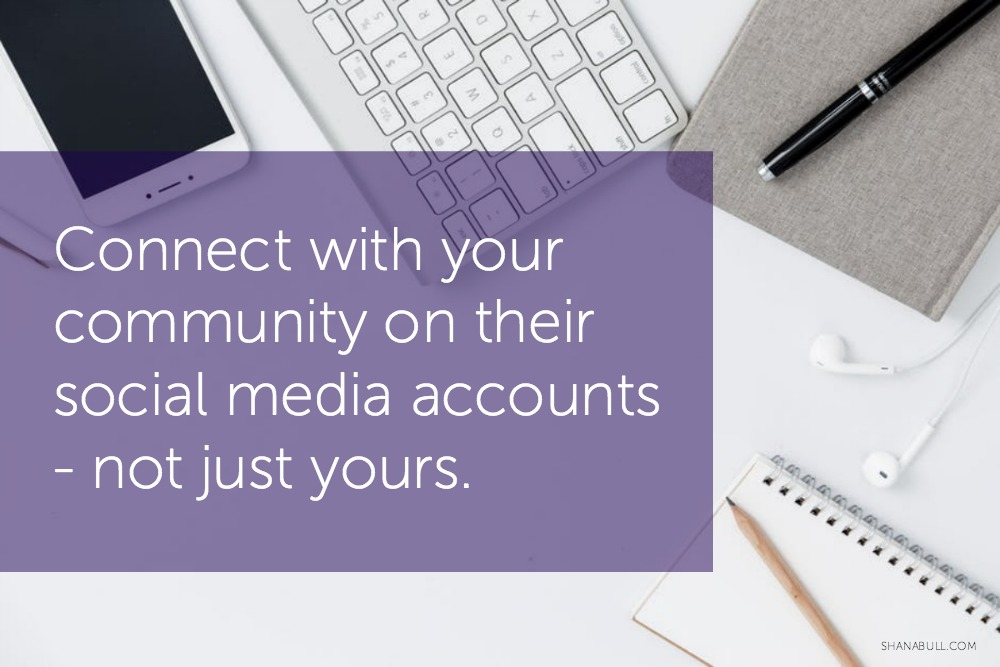 What community management looks like for a social media manager