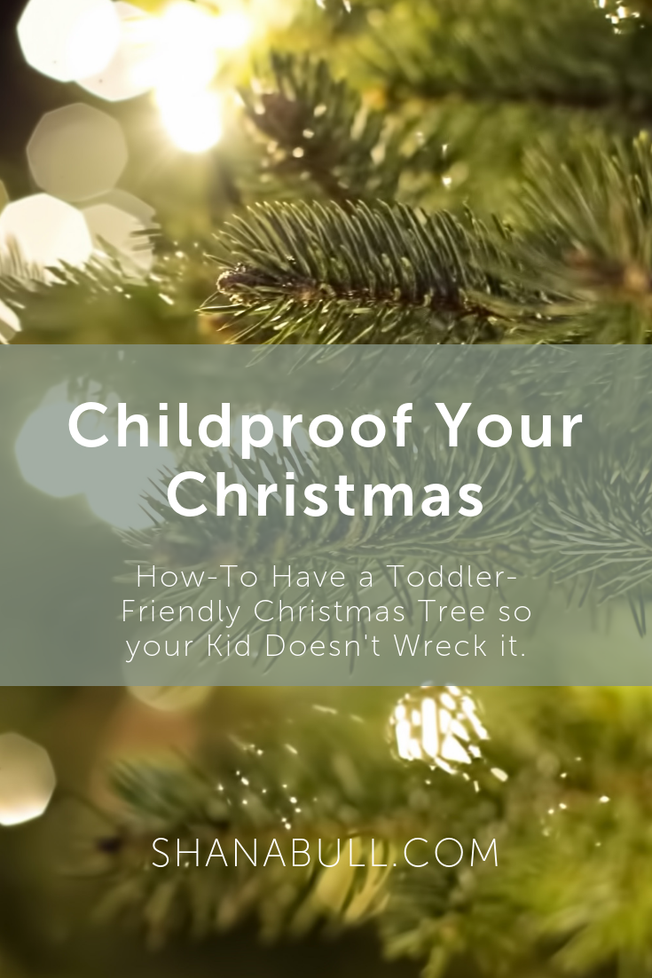toddler friendly christmas tree