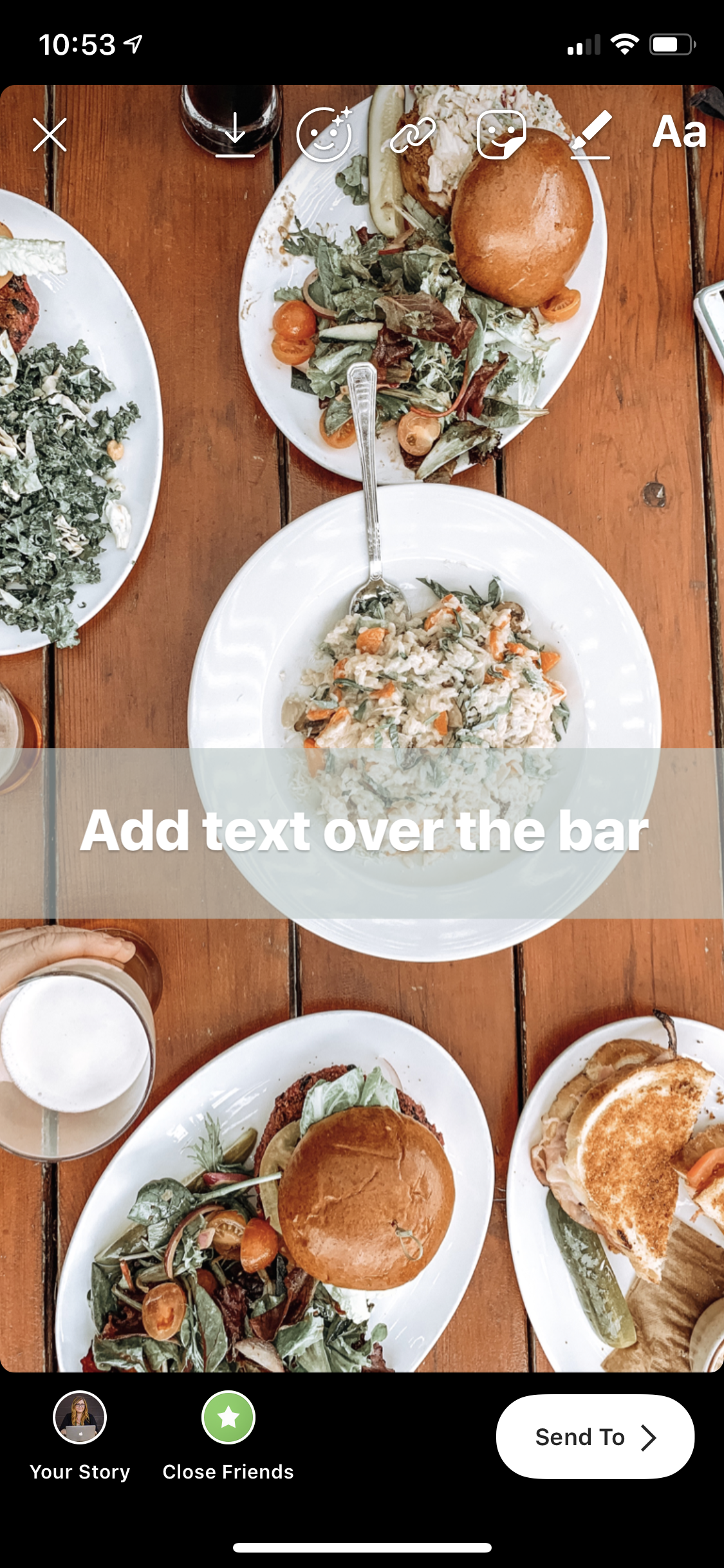 How to Create Lines for Your Text in Instagram Stories