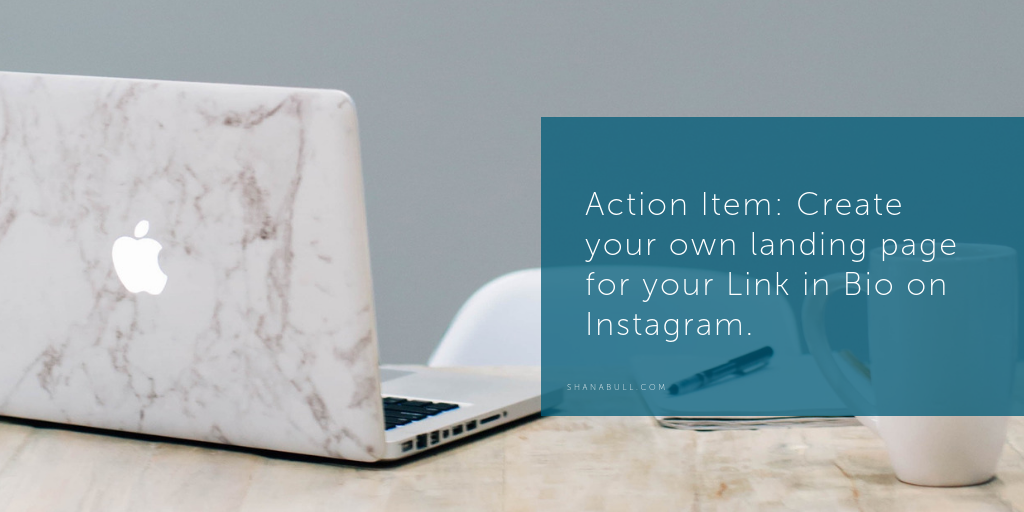 Linktree for Instagram Marketing Action Item