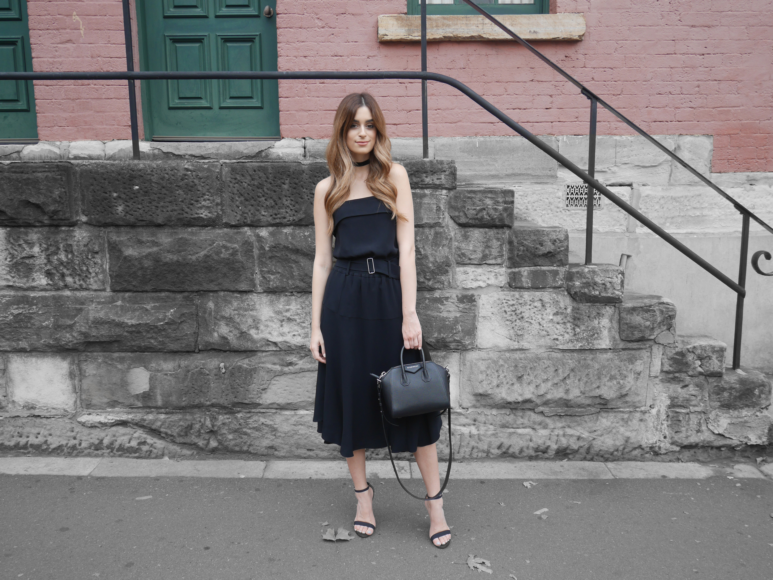 Wearing ALC from Shopbop, on the way to opening night of MBFWA 2016.