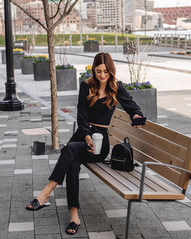 When your coffee cracks a funny joke 😜 What's everyone up to this weekend? We've FINALLY got some warmth in Boston so I'm excited to explore more of our new city 🙈😍 http://liketk.it/2BTKk #liketkit @liketoknow.it