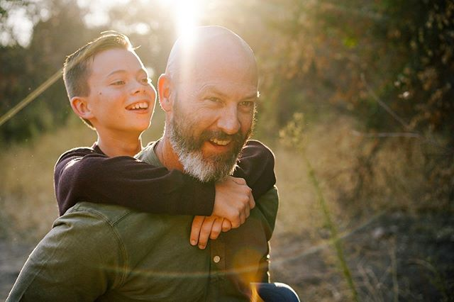 One of my favorite moments from today's shoot with The Winters Family shot by @kellydlux #fatherson