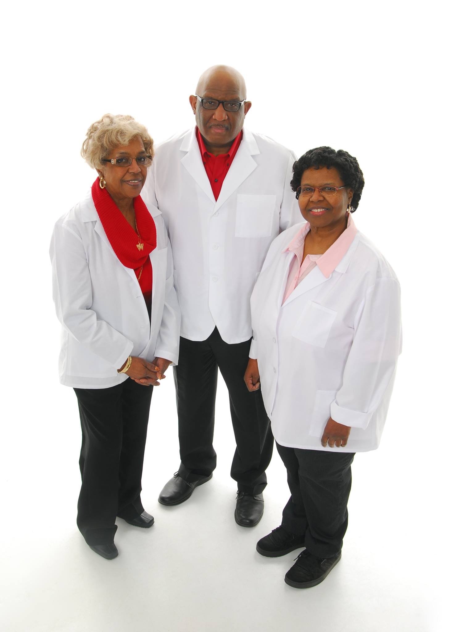 Carolyn Patterson, Darwin Smith Sr., and Cynthia Smith (from left to right)