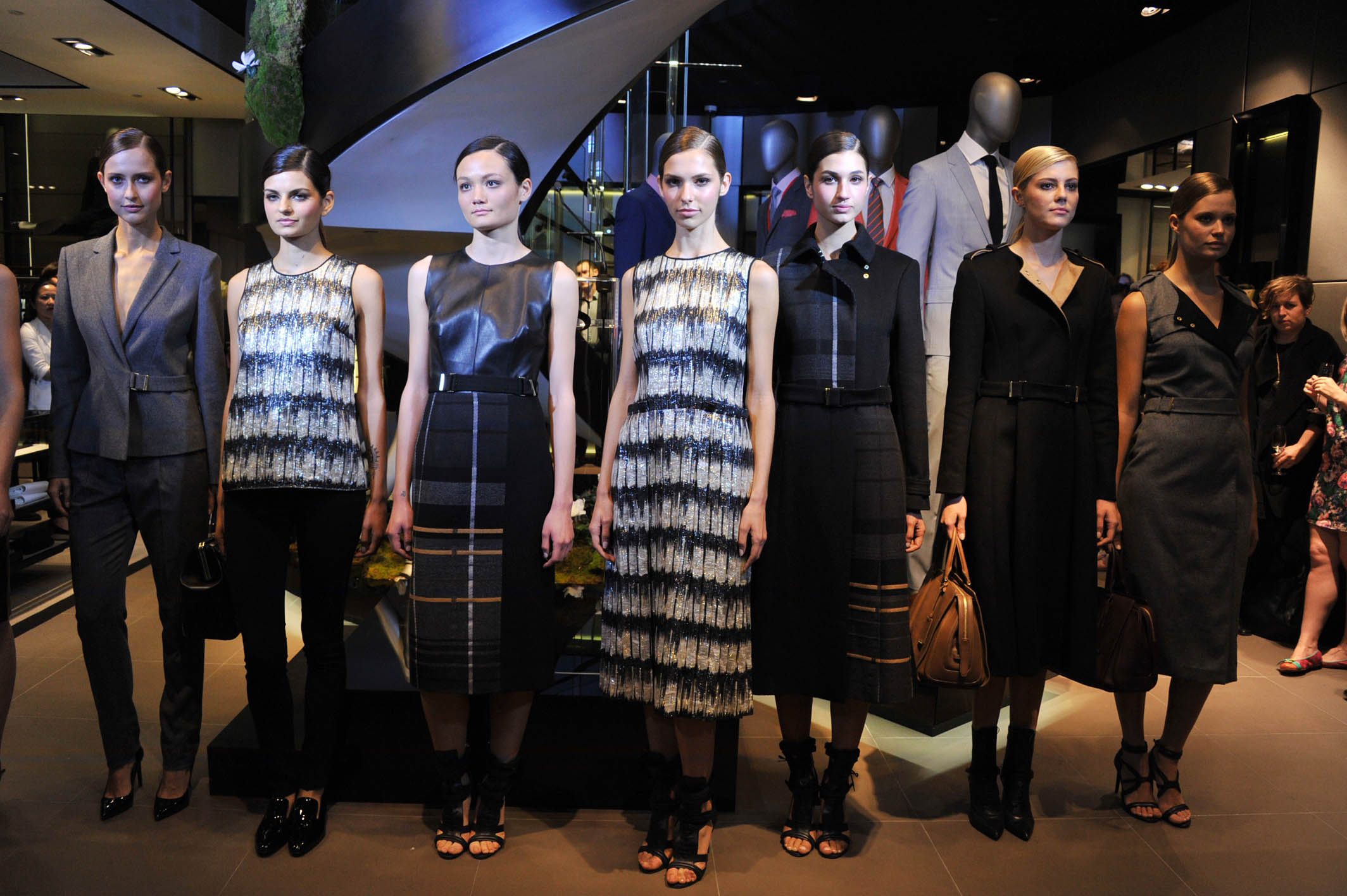 Jason Wu's first collection for BOSS Women