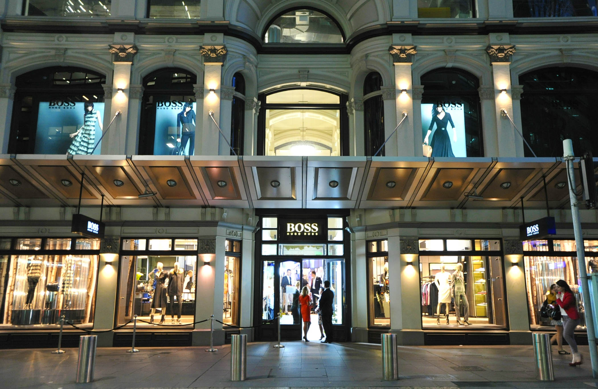 Hugo Boss King Street Sydney boutique