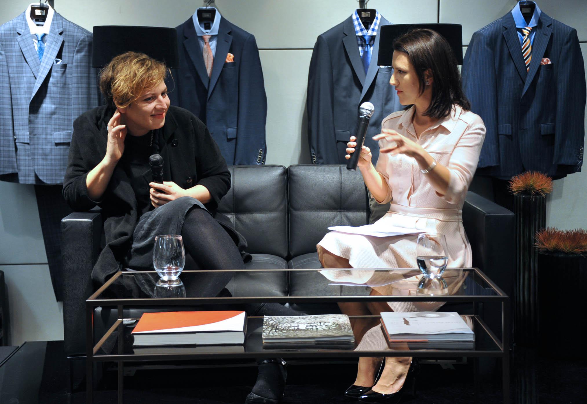 MCA's Primavera artist Marian Tubbs and VOGUE Deputy Editor Sophie Tedmanson