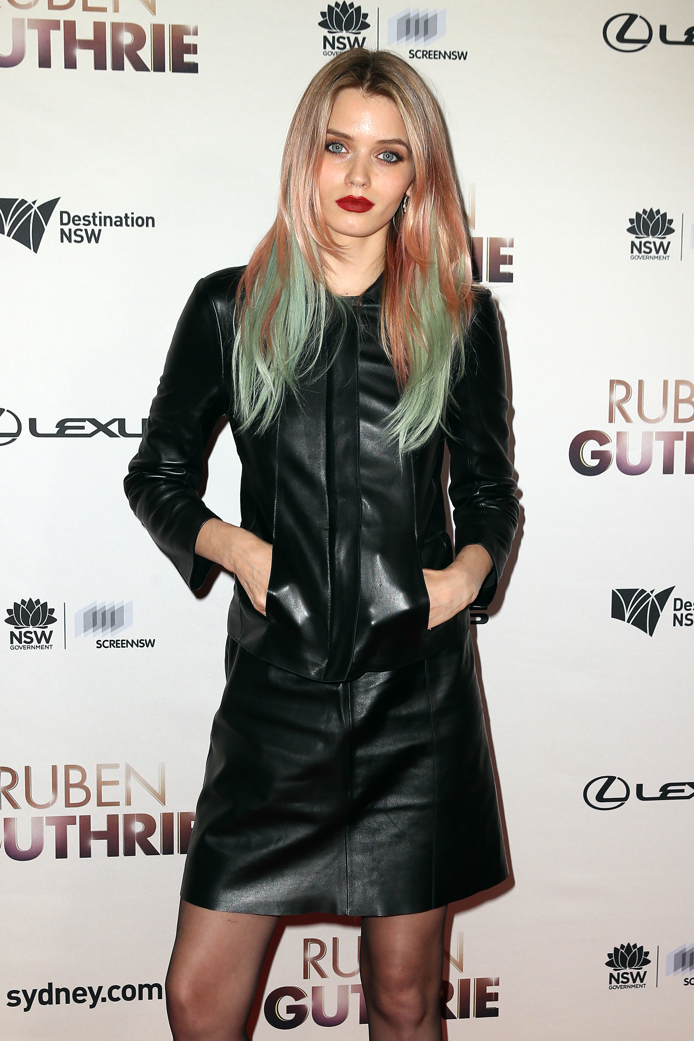 Scanlan PR negotiated forAbbey Lee Kershaw, campaign model for BOSS Womenswear 2015, to wear a BOSS look from the Resort 2016 collection to the Ruben Guthrie premier in Sydney on Thursday, July 9 2015.