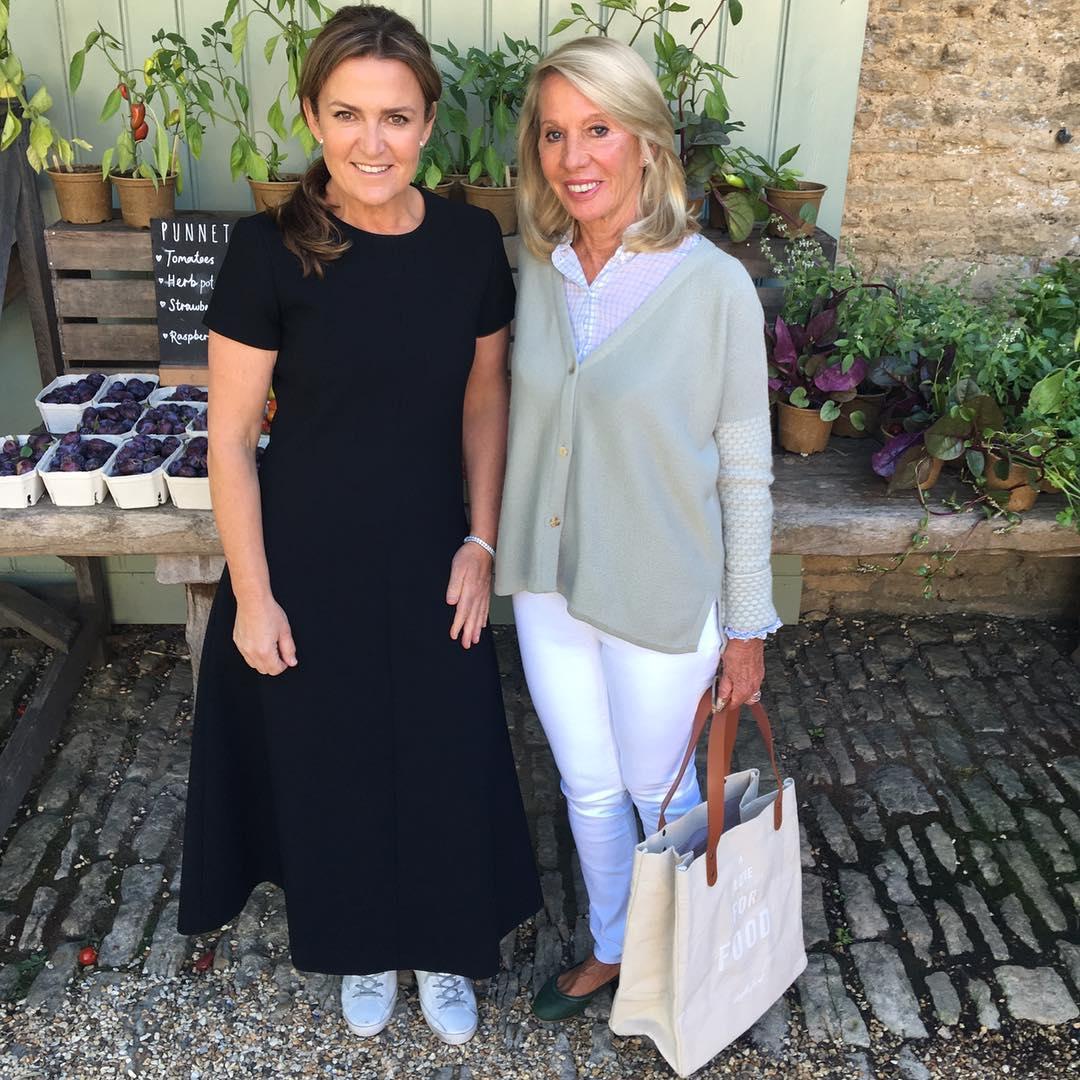 Donna Hay and Daylesford founder Carole Bamford