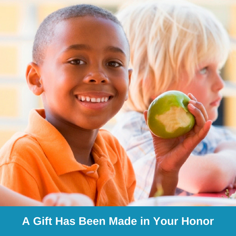 E-Card Two - A Gift Has Been Made in Your Honor - Boy