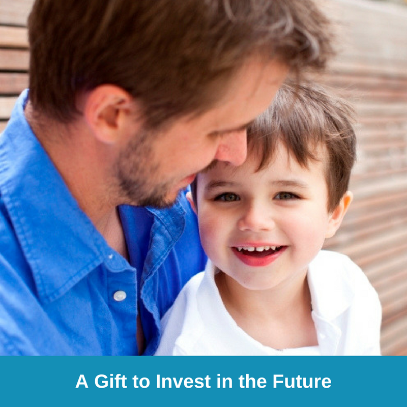 E-Card One - A Gift to Invest in the Future - Father and Son