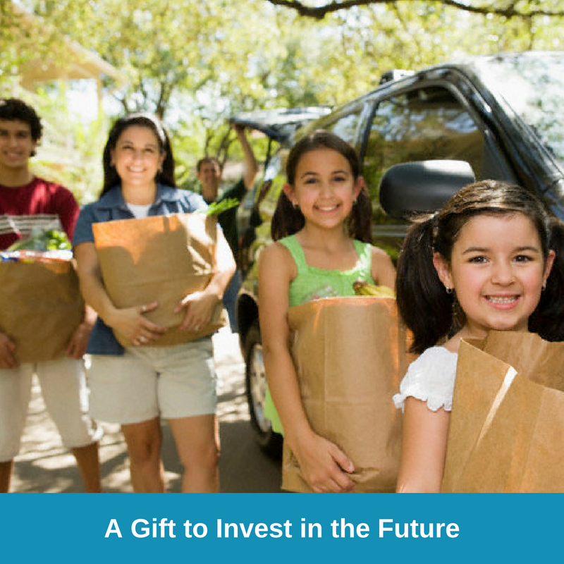 E-Card Three - A Gift to Invest in the Future - Family