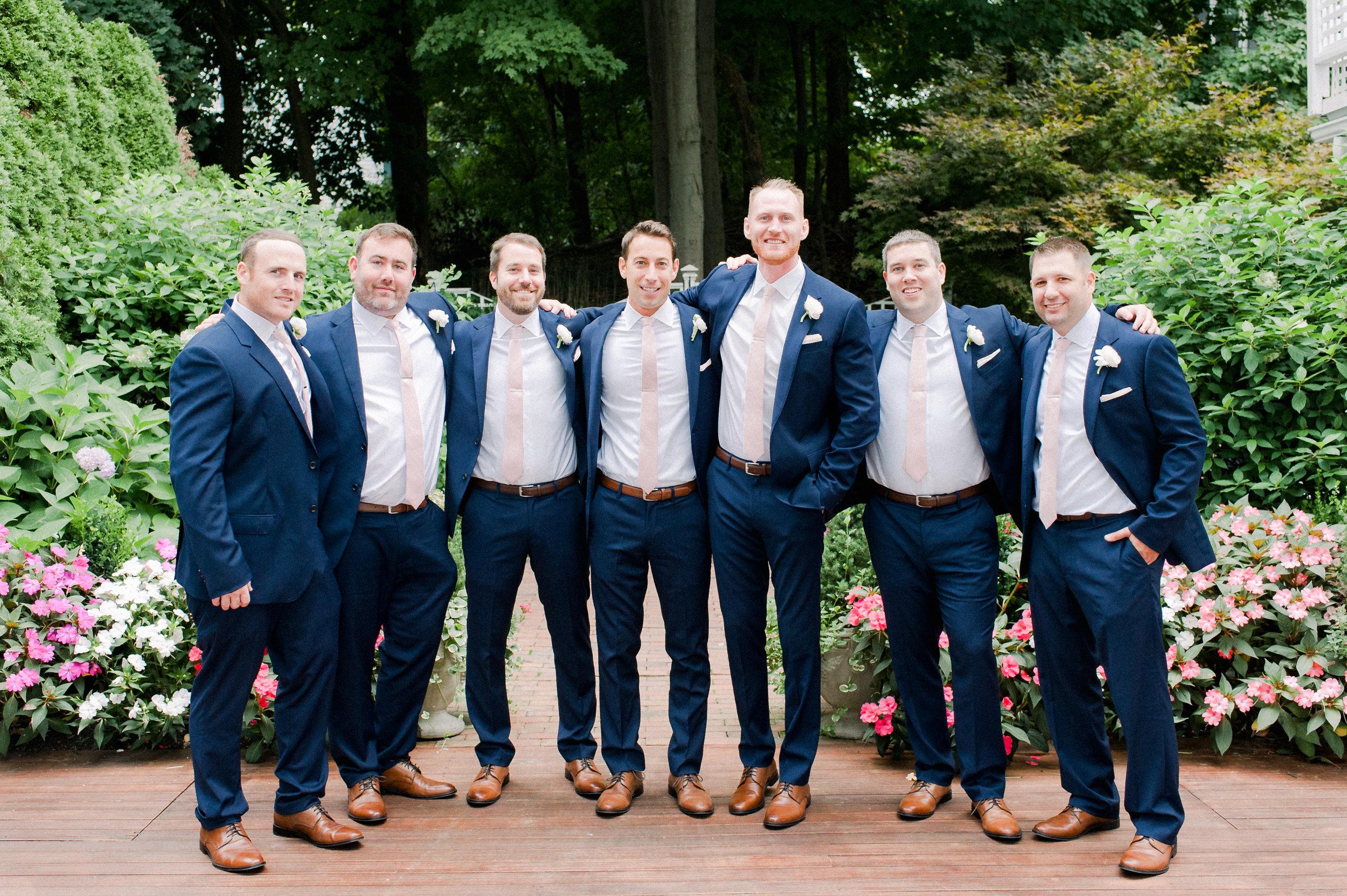 The Commons 1854 Topsfield MA wedding   Massachusetts wedding venue   Massachusetts wedding photos   North Shore MA Wedding photos   groomsmen photos   groomsmen portraits