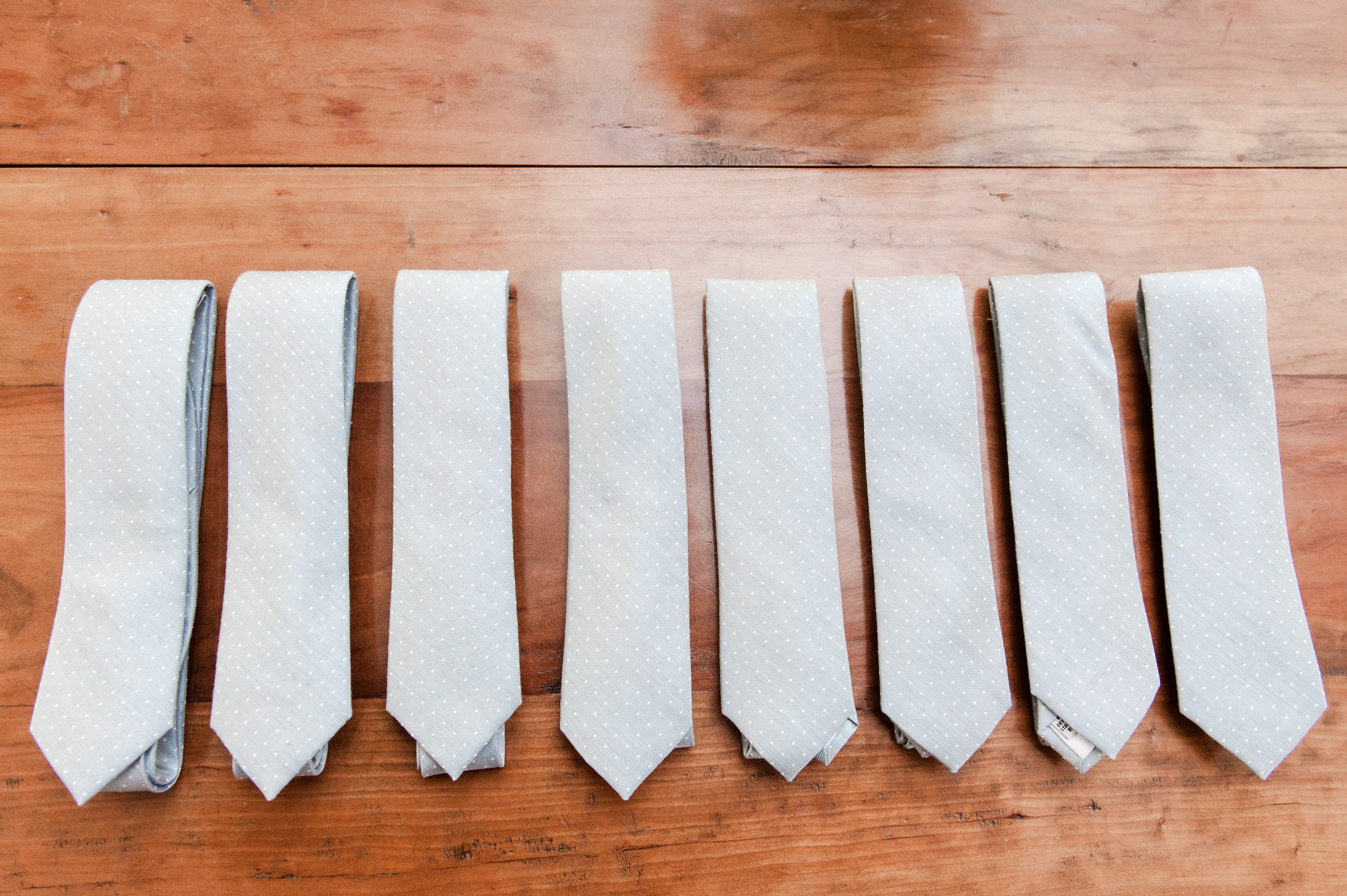 Wee Burn Beach Club Wedding Darien CT groomsmen gray ties