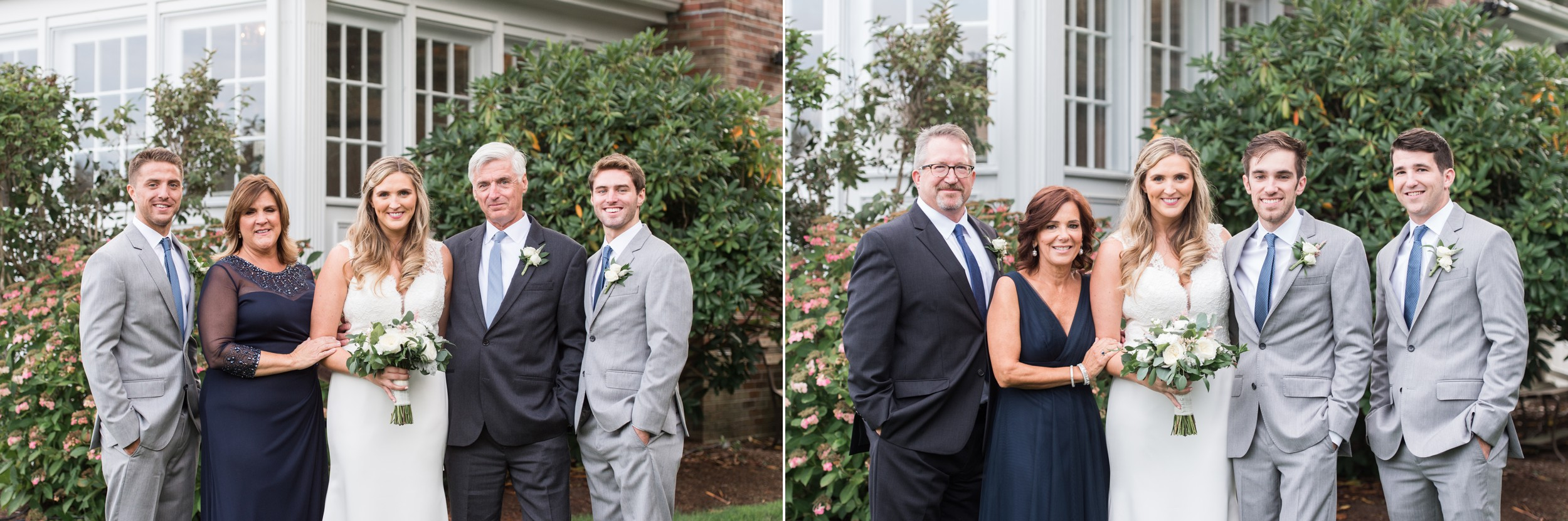 wedding planning family portraits made easy The Dennis Inn Wedding Immediate Family Portraits of parents and siblings.jpg