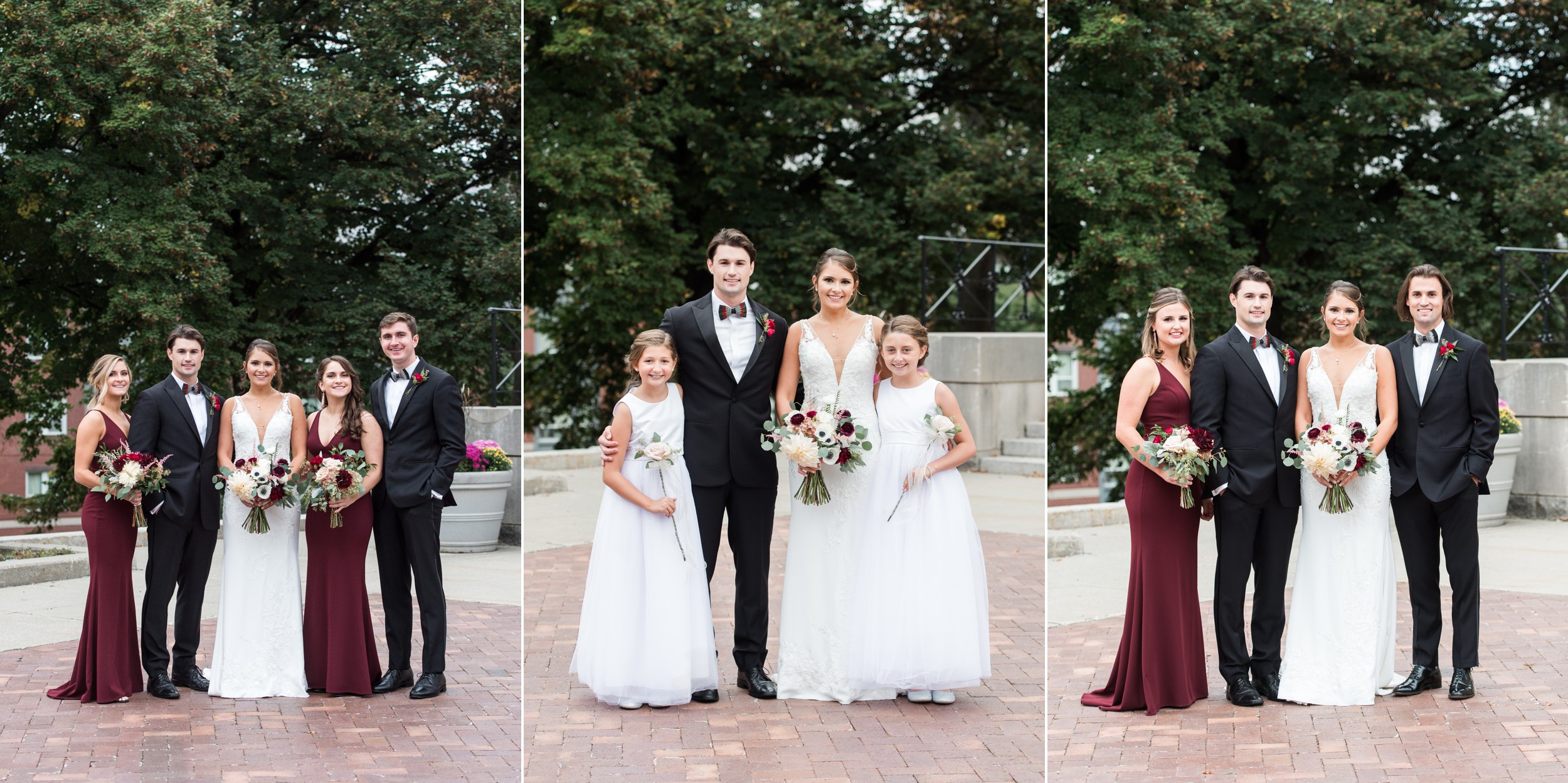 wedding planning family portraits made easy Holy Cross Wedding with siblings.jpg