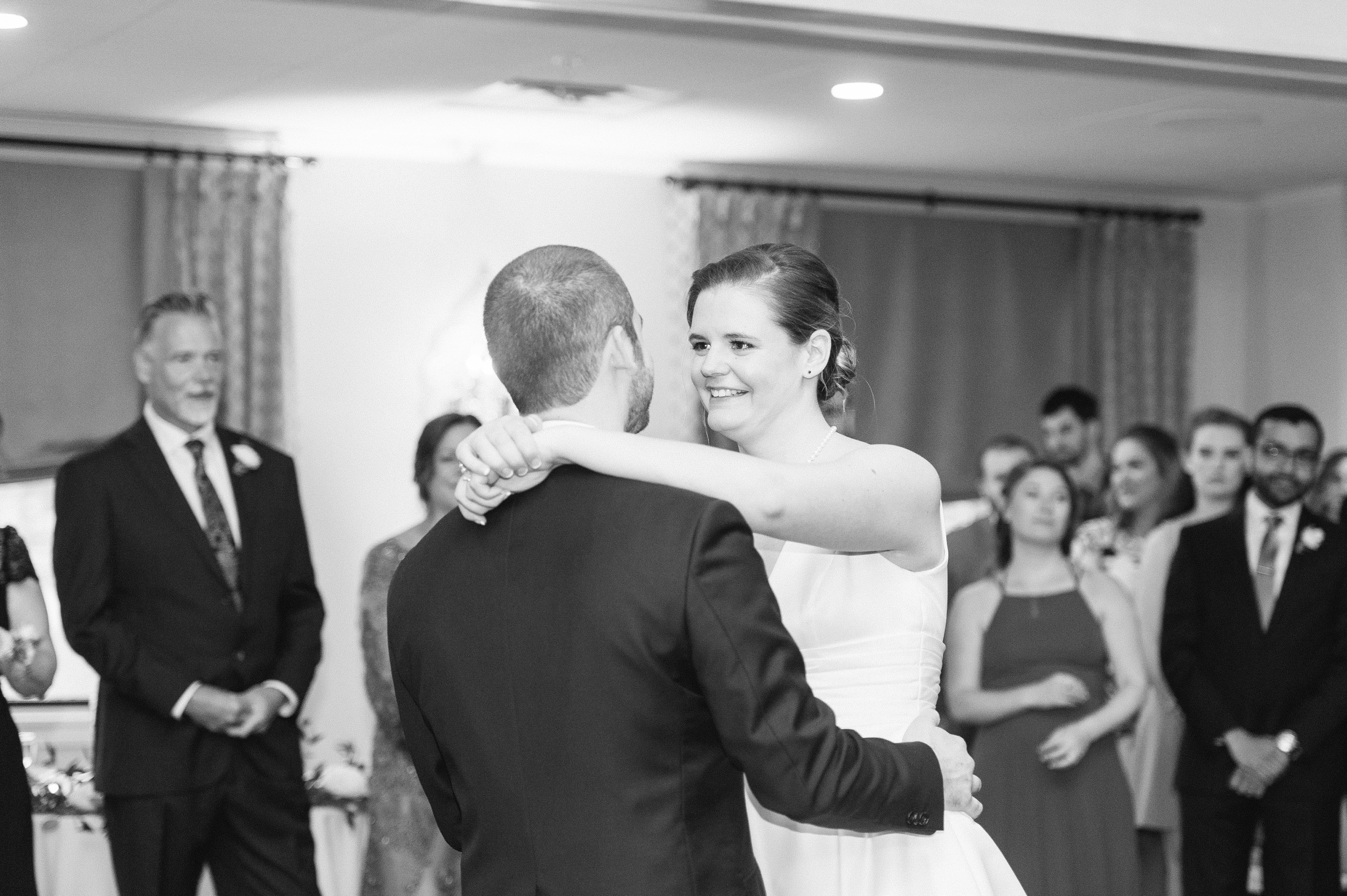 The Villa at Ridder Country Club wedding bride and groom first dance