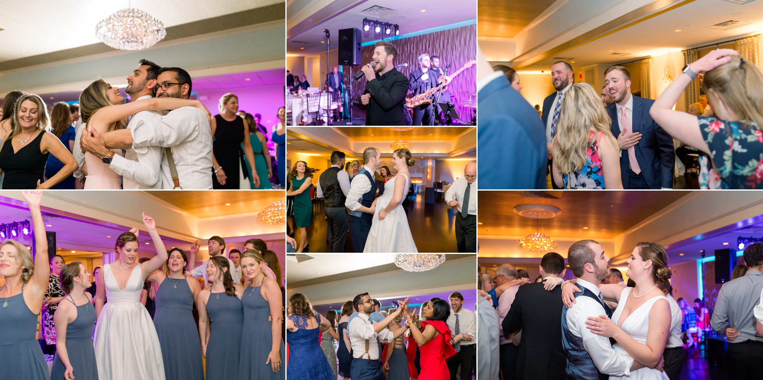 The Villa at Ridder Country Club wedding dance floor fun