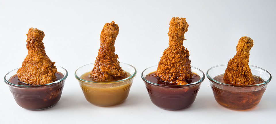 Blue Ribbon Fried Chicken Drumsticks in Honey Sauces
