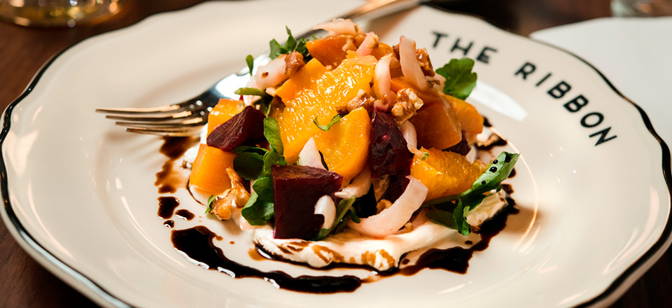 Beet & Goat Cheese Salad