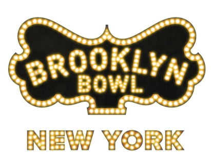 Brooklyn Bowl - New York City Logo - Links to Brooklyn Bowl New York Web Page
