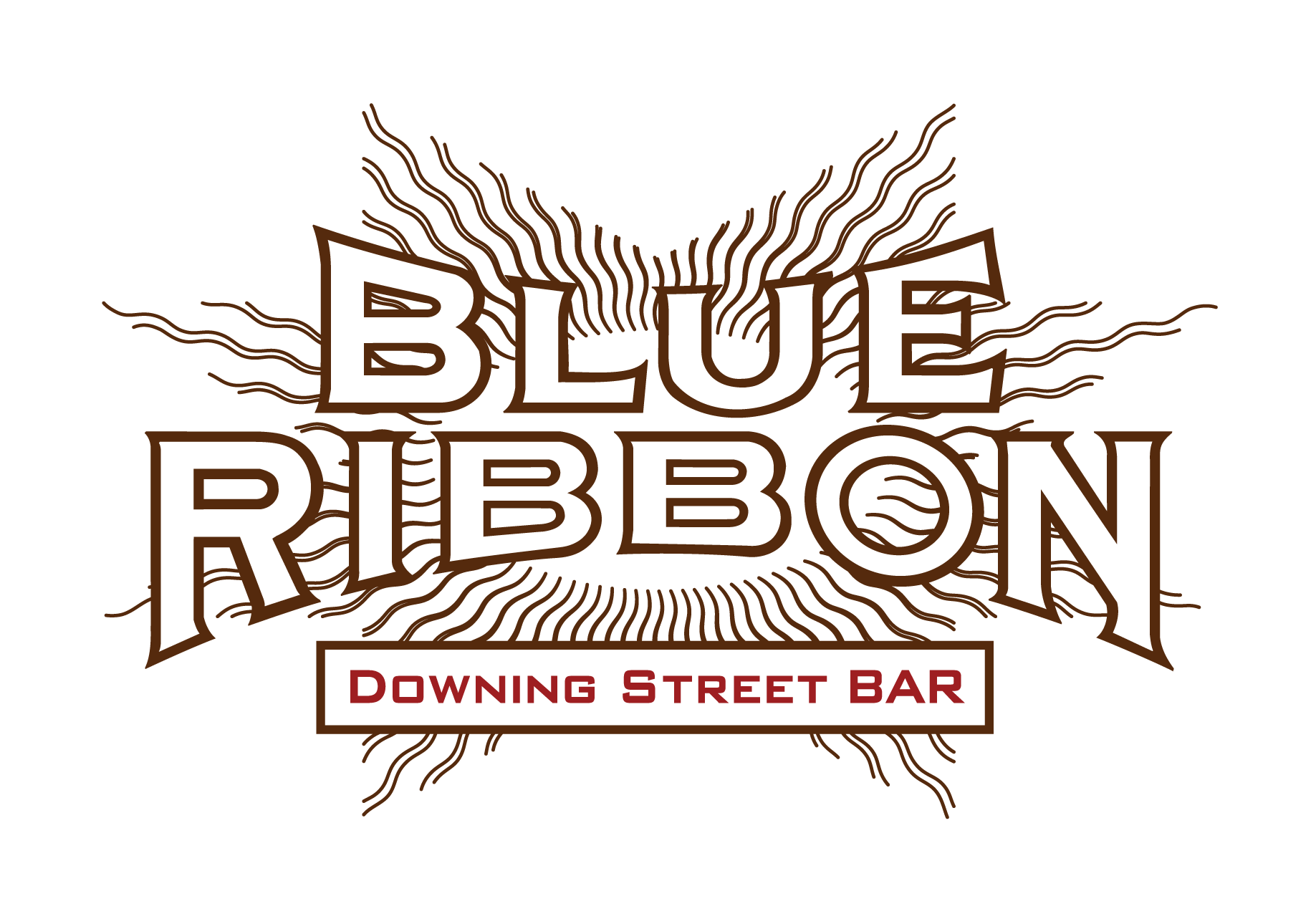 Blue Ribbon Downing Street Bar - For a full buyout of up to 16 guests, please email us.